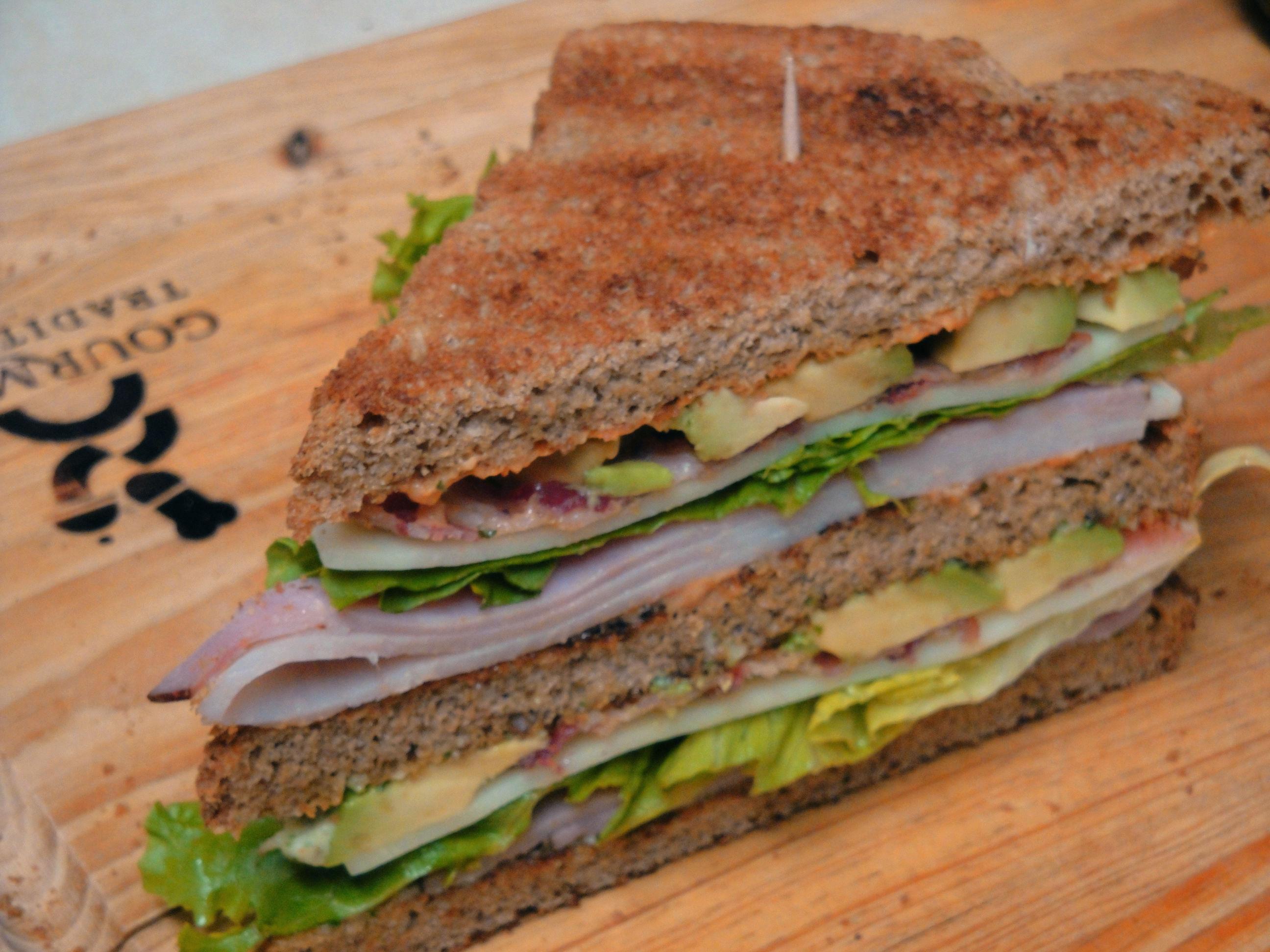 Killer Club Sandwich |