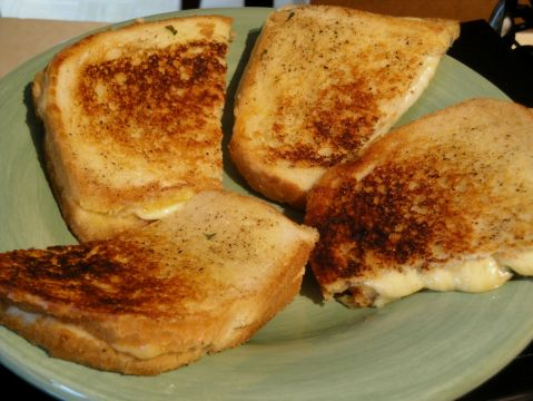 Sage Grilled Cheese