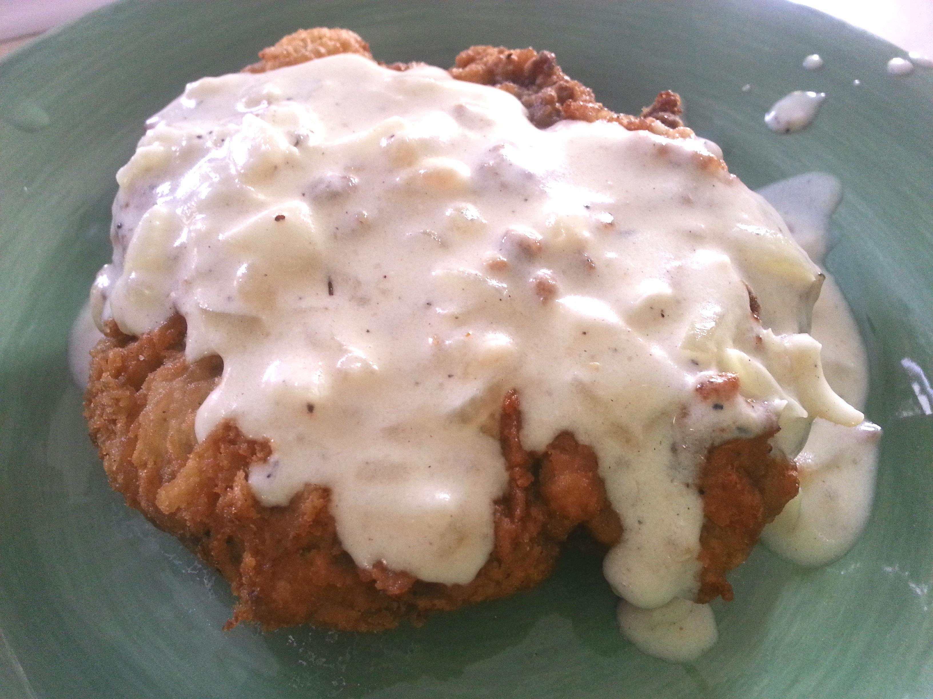 Chicken-Fried Steak with Cream Gravy |