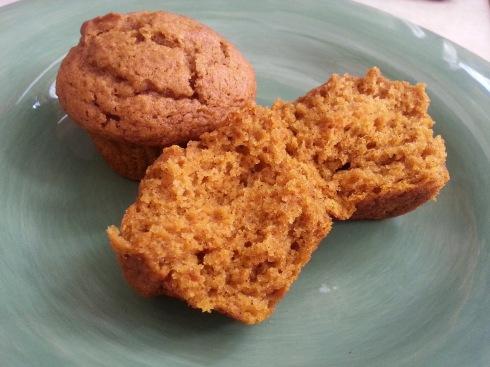 pumpkin muffins 2